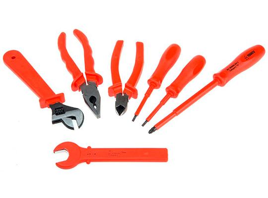 herramientas aisladas
